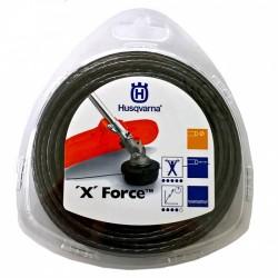 Żyłka tnąca okrągła z rdzeniem Husqvarna X Force 2,4mm x 50m