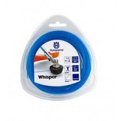 Żyłka tnąca okrągła cicha Husqvarna Whisper 1,5mm x 15m Niebieska