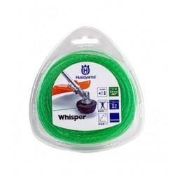 Żyłka tnąca okrągła cicha Husqvarna Whisper 2mm x 15m Zielona