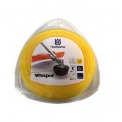 Żyłka tnąca okrągła cicha Husqvarna Whisper 2,4mm x 90m Pomarańczowa