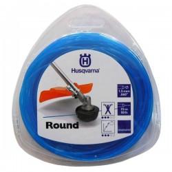 Żyłka tnąca okrągła  Husqvarna Round 1,5mm x 15m Niebieska