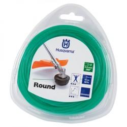 Żyłka tnąca okrągła  Husqvarna Round 2mm x 15m Zielona