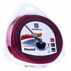 Żyłka tnąca okrągła  Husqvarna Round 3mm x 10m Czerwona