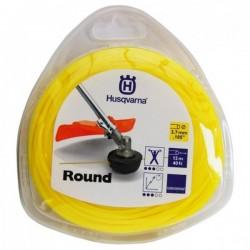 Żyłka tnąca okrągła  Husqvarna Round 2,7mm x 12m Żółta