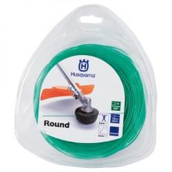 Żyłka tnąca okrągła  Husqvarna Round 2mm x 130m Zielony