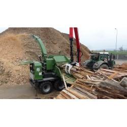 Rębak bębnowy do produkcji zrębka Pezzolato PTH 1200/1000