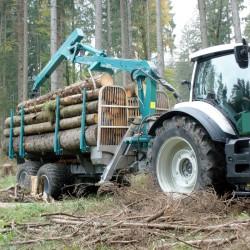 Przyczepa leśna Pfanzelt L16