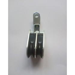 Rolka do sterowania sznurkami do wciągarki- łezka podwójna